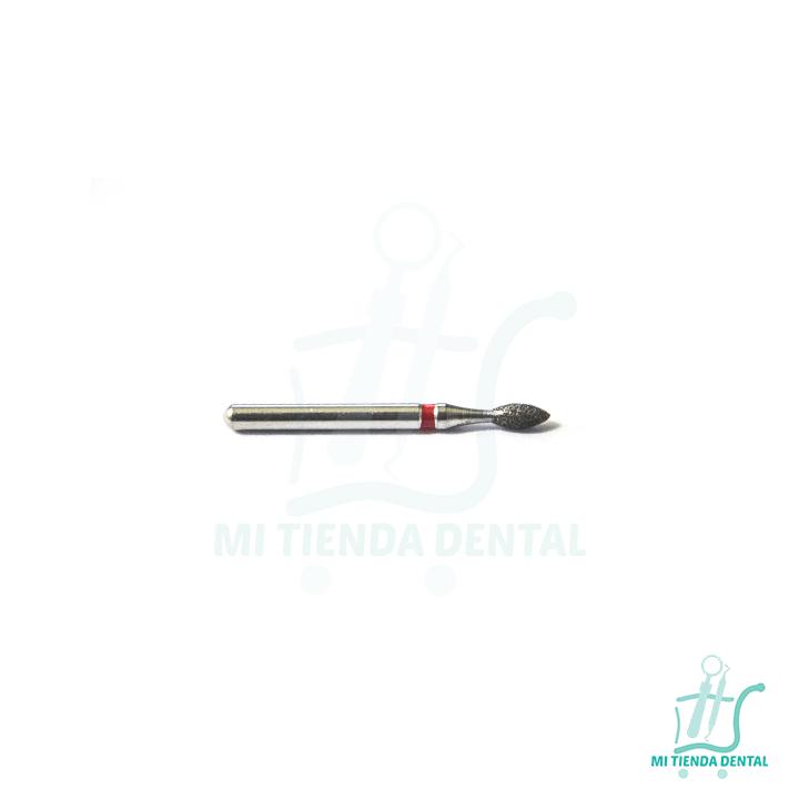 FRESA DIAMANTE ROJA 257-016F | Mi tienda dental
